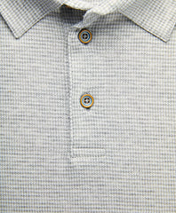 Mercerized Cotton Houndstooth Polo