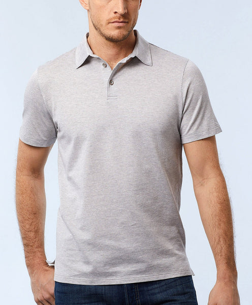 KSOPL1228020 | Mercerized Cotton Houndstooth Polo
