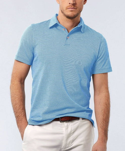 KSOPL1228454 | Mercerized Cotton Houndstooth Polo