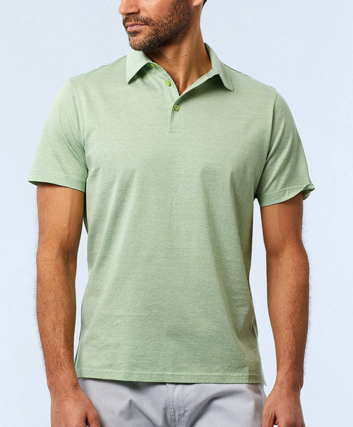 Fine Line Cotton Polo