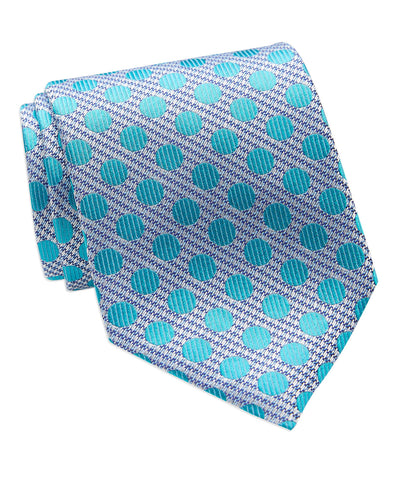 ad324e26c2c1 Colorful Dots Italian Silk Necktie