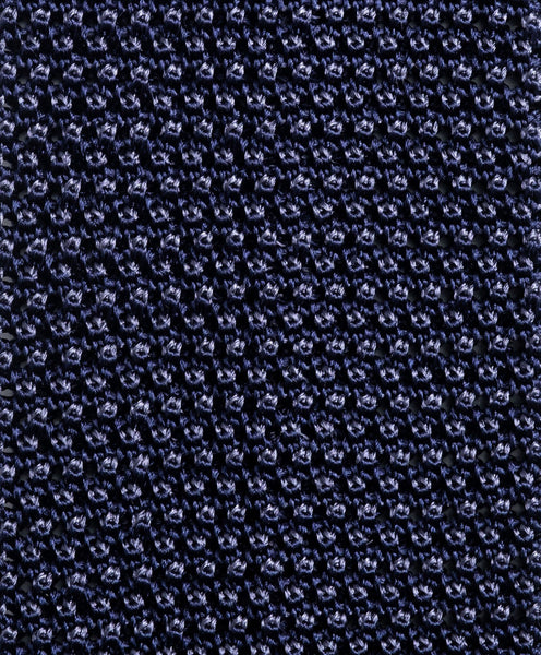 NTR2084423 | Blue Knitted Silk Neck Tie