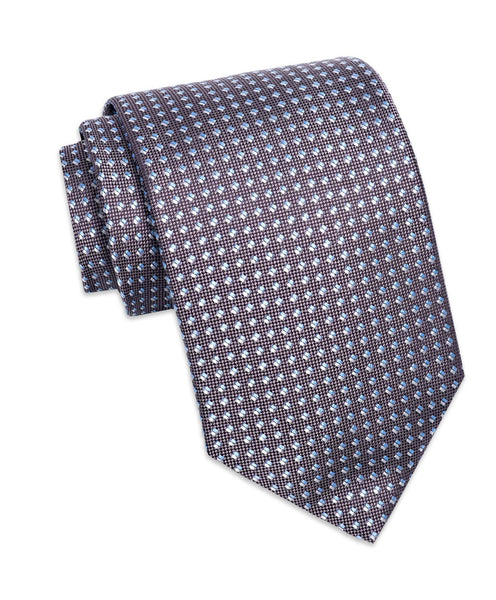 NTR2090010 | Charcoal Micro Tic Silk Neck Tie