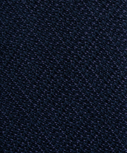 NTR2693412 | Navy Knitted-Blend Neck Tie