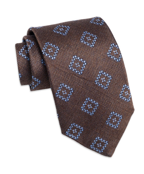 NTR2797212 | Chocolate Diamond Wool-Blend Neck Tie