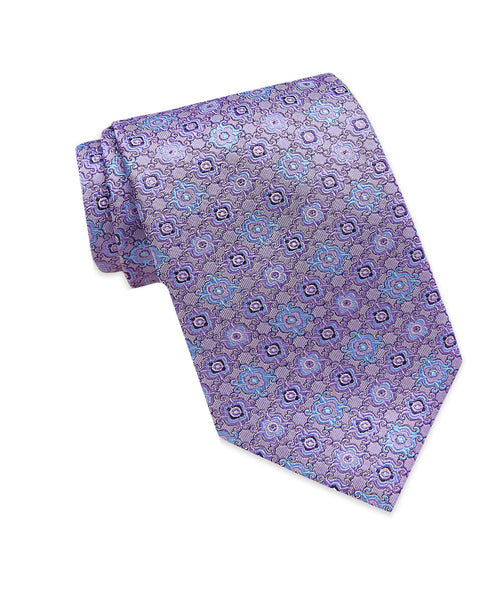 NTR3790500 | Purple Medallion Tie