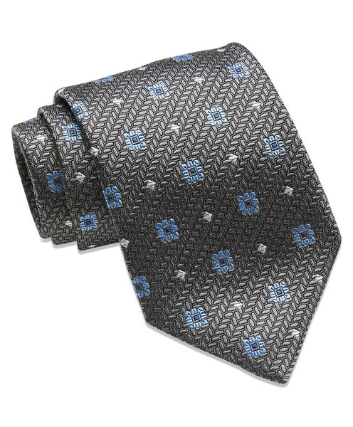 Charcoal Neat Neck Tie