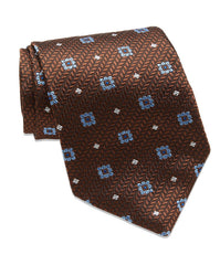 Chocolate Neat Neck Tie