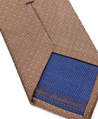 Chocolate Micro Dot Neck Tie