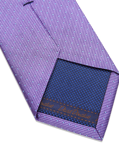 Purple Micro Dot Neck Tie