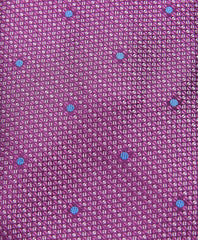 Berry Micro Dot Neck Tie