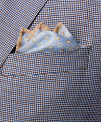 Double Face Printed Neat Pocket Square