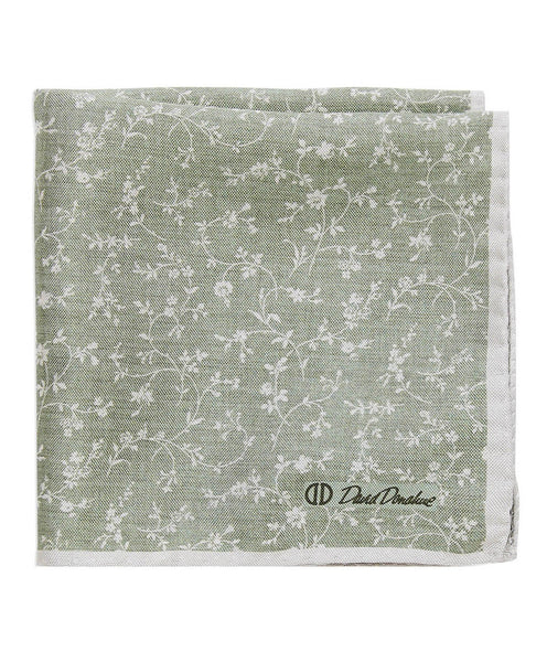 PS1499314 | Double Face Vine Printed Pocket Square