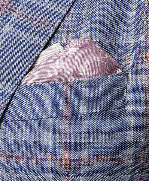 PS1499534 | Double Face Vine Printed Pocket Square