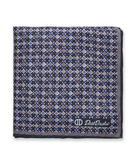 Charcoal Diamond Pocket Square