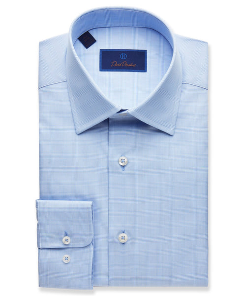 RBCSP1875423 | Modern Glen Plaid Dress Shirt
