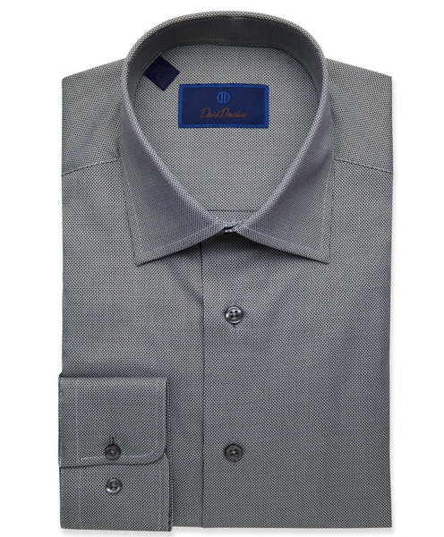 RBCSP9122009 | Black Dobby Weave Dress Shirt