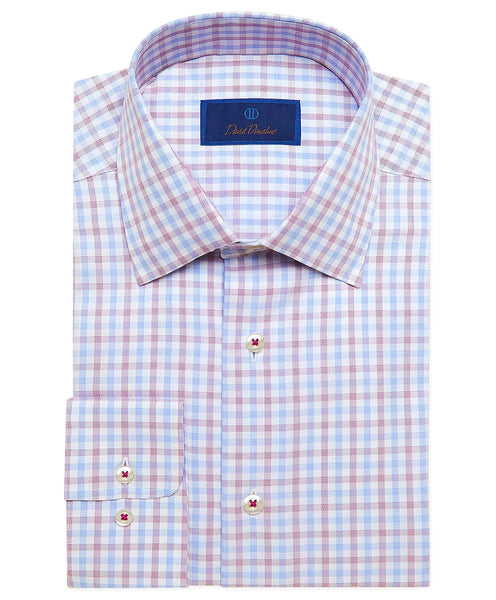 RBSP02848144 | White & Berry Herringbone Check Dress Shirt