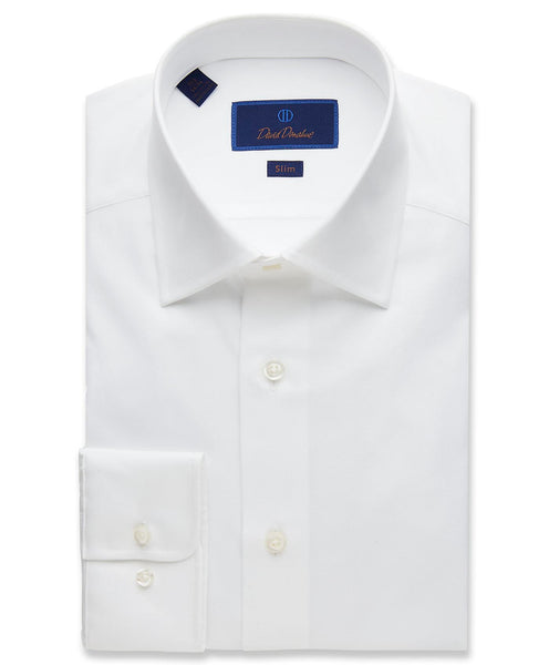 SBCSW4130110 | White Super Fine Twill Dress Shirt