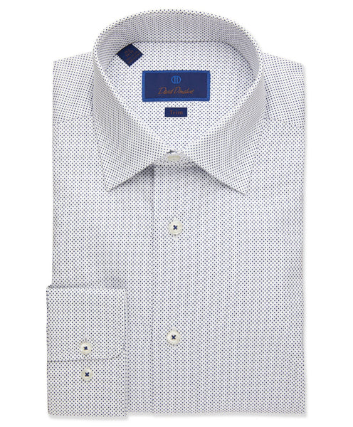 TBCSP1300155 | Micro Dot Print Dress Shirt
