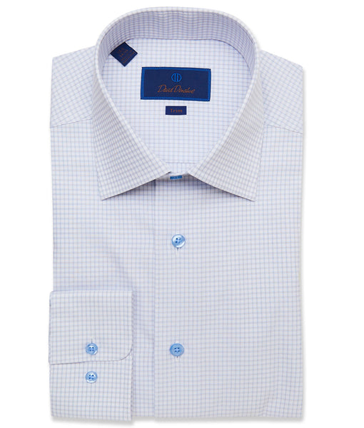 TBCSP3661124 | Dune Fine Line Check Dress Shirt