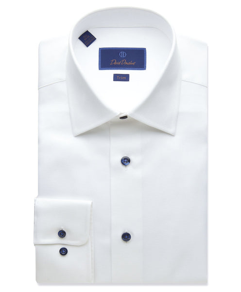 TBCSP8128110 | Micro Textured Dress Shirt
