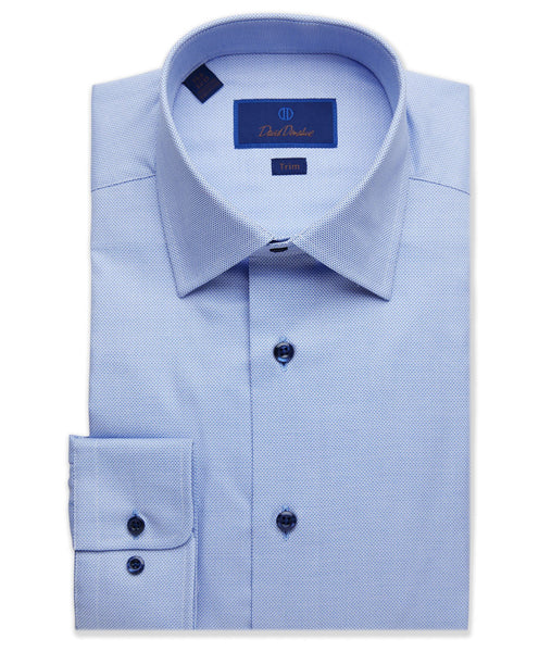 TBCSP9122423 | Textured Micro Dobby Dress Shirt