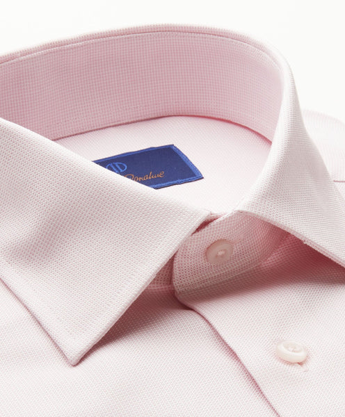 Micro Basketweave Dress Shirt