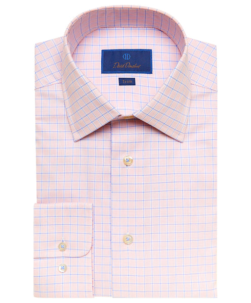 TBSP02824830 | Melon Box Check Dress Shirt