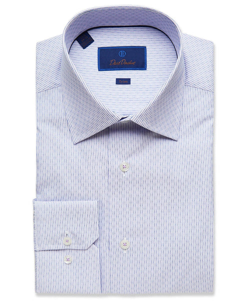 TMBSP2924534 | Lilac Fine Textured Stripe Dress Shirt