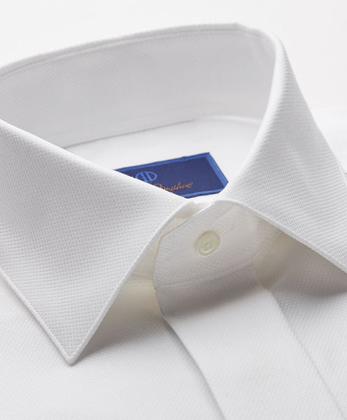 TSFCP0222110 | Diamond Pattern French Cuff Formal Shirt