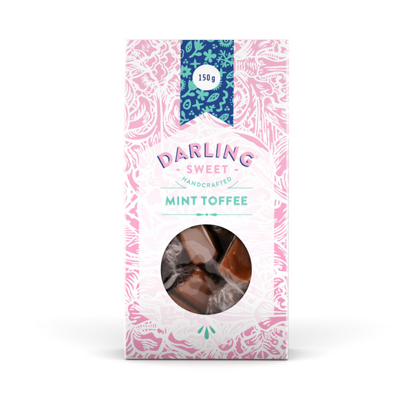 Darling Sweet Mint Toffee 150g