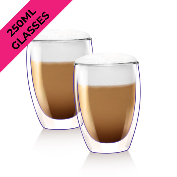 250ml Double Wall Thermal Glasses