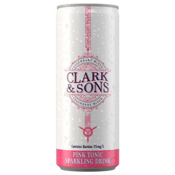 Clark & Sons Pink Tonic 6 x 250ml cans