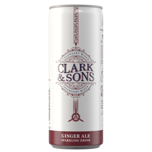 Clark & Sons Ginger Ale 6 x 250ml