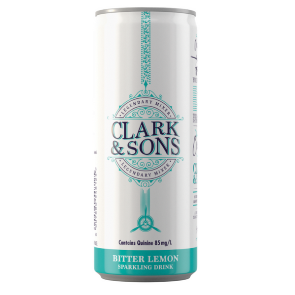 Clark & Sons Bitter Lemon 6 x 250ml cans
