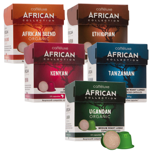 Nespresso Compatible 50 Capsules Bulk African Selection