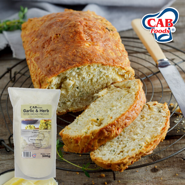 Premix Garlic & Herb Bread