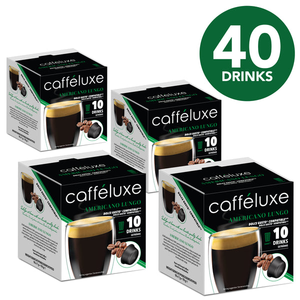 Dolce Gusto compatible Capsules Americano Coffee 40 Value Pack