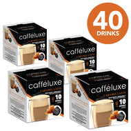 Dolce Gusto Compatible Capsules Caramel Latte Coffee 40 Value Pack