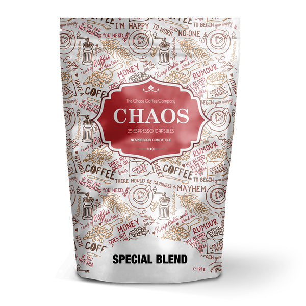 Nespresso Compatible 125 Capsule Chaos Special Blend