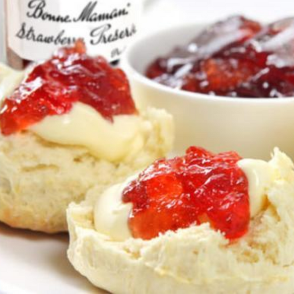 Bonne Maman Strawberry Jam & Scone Bundle