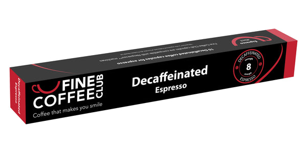 Fine Coffee Club Decaff 10 Capsule Sleeve