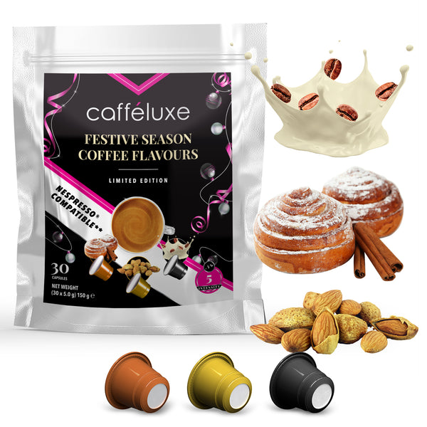 Nespresso Compatible 30 Capsules Limited Edition Flavour Mix