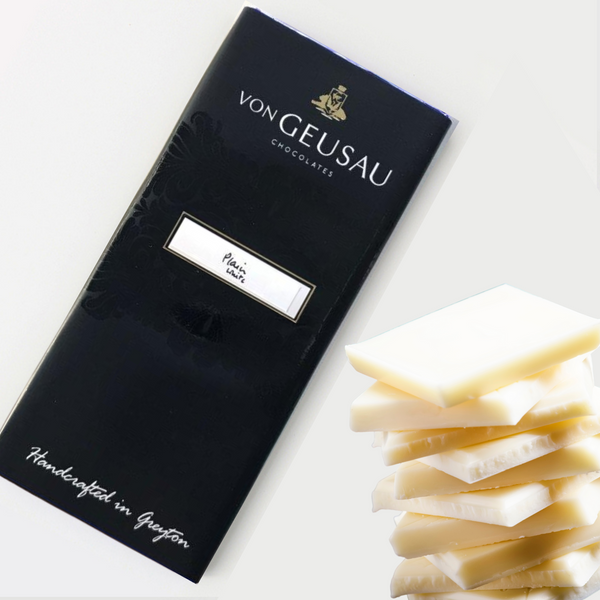 Von Geusau White Milk Chocolate 100g Slab