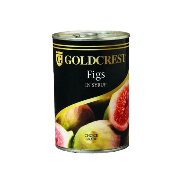 Goldcrest Figs in Syrup 415g can