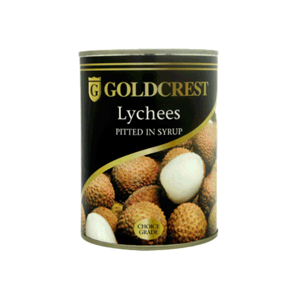 Goldcrest Lychees w/o stone 567g can