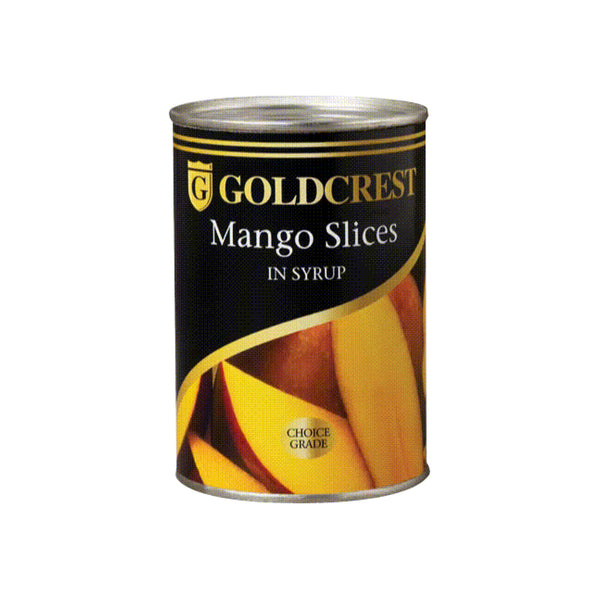 Goldcrest Mangoes Sliced 410g can