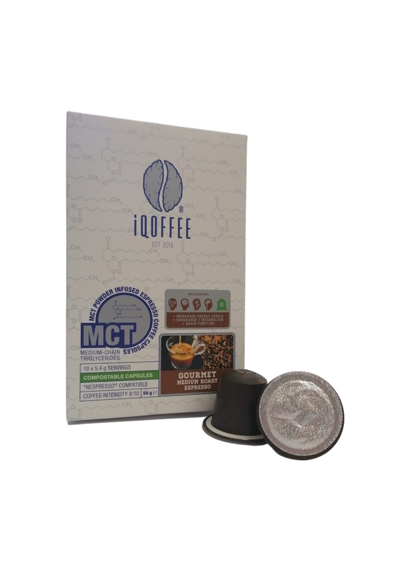 MCT Infused Coffee Capsules (30 Pack)