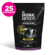 The Original Coffee Company 25 Capsules Medium Roast African Blend